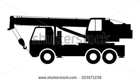 Mobile Crane Stock Vectors Images Vector