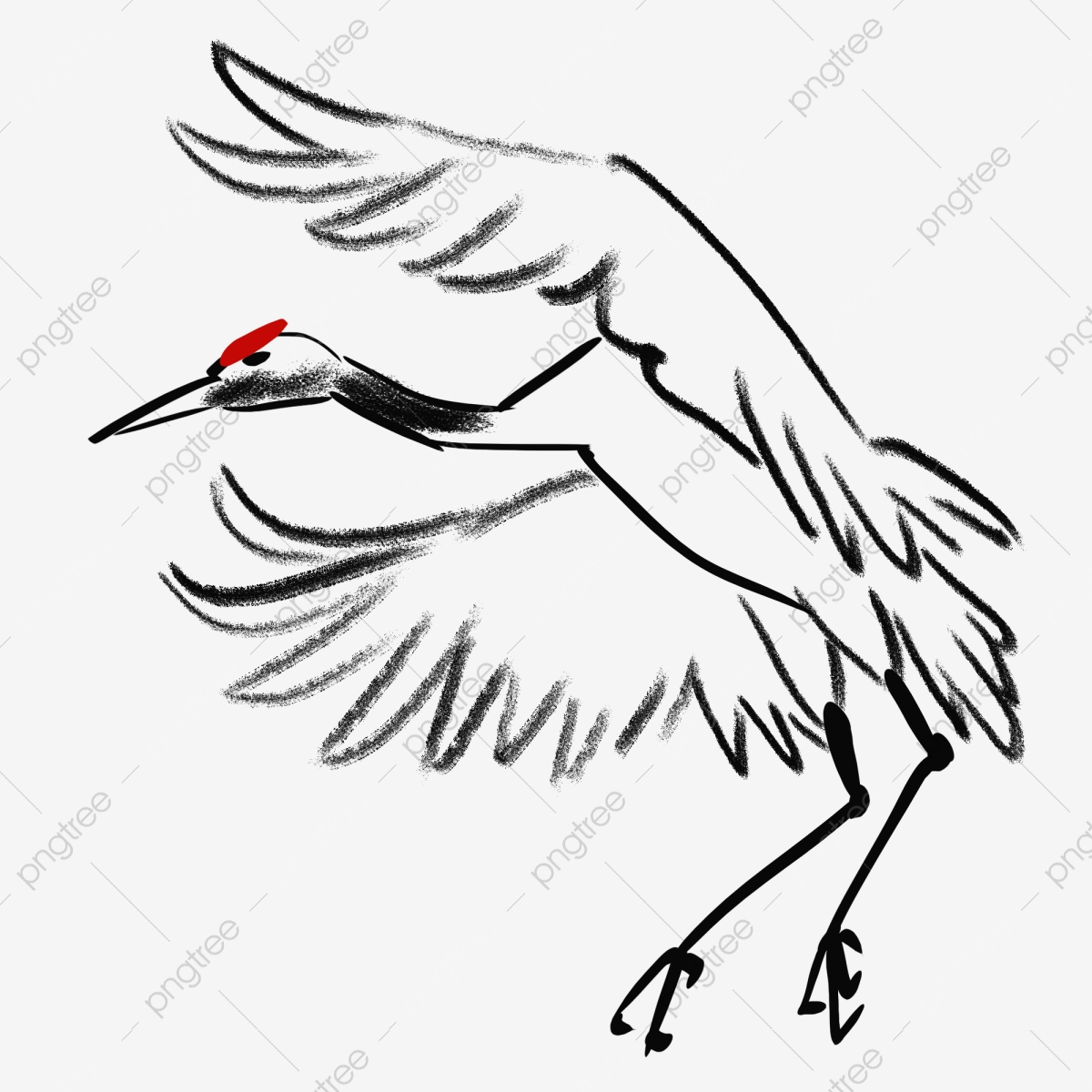 Crane, Birds, Animal PNG Transparent Clipart Image and PSD File for.