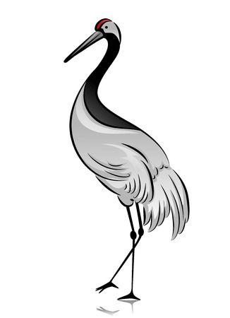 Crane bird clipart 4 » Clipart Station.