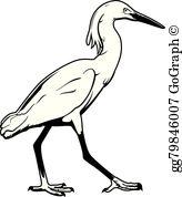 Crane Bird Clip Art.
