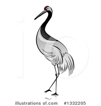 Crane Bird Clipart #1332205.