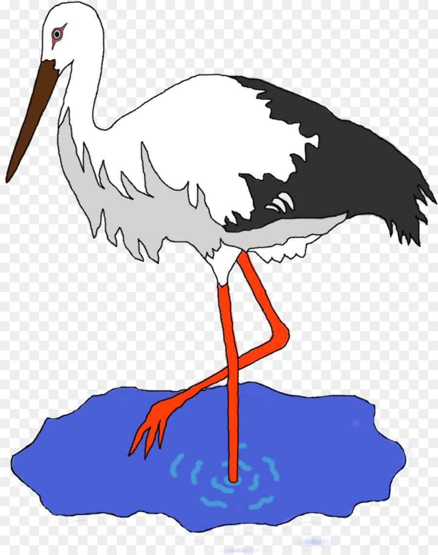 Crane Bird clipart.
