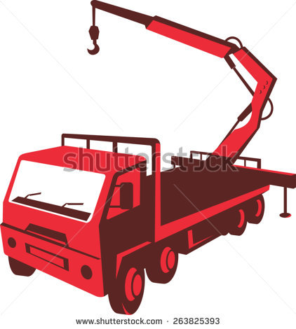 Boom Truck Stock Vectors, Images & Vector Art.