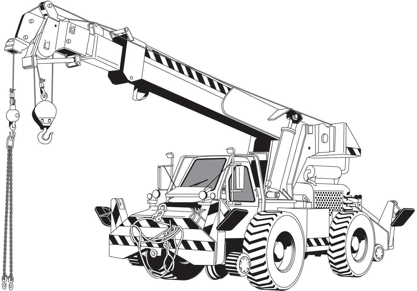 Crane Boom Clipart Clipground