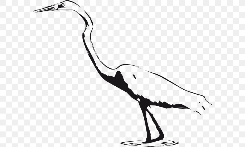 Great Egret Great Blue Heron Bird Crane Clip Art, PNG.