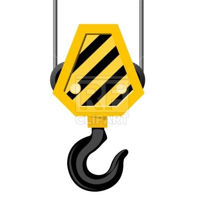 Crane hook Vector Image.