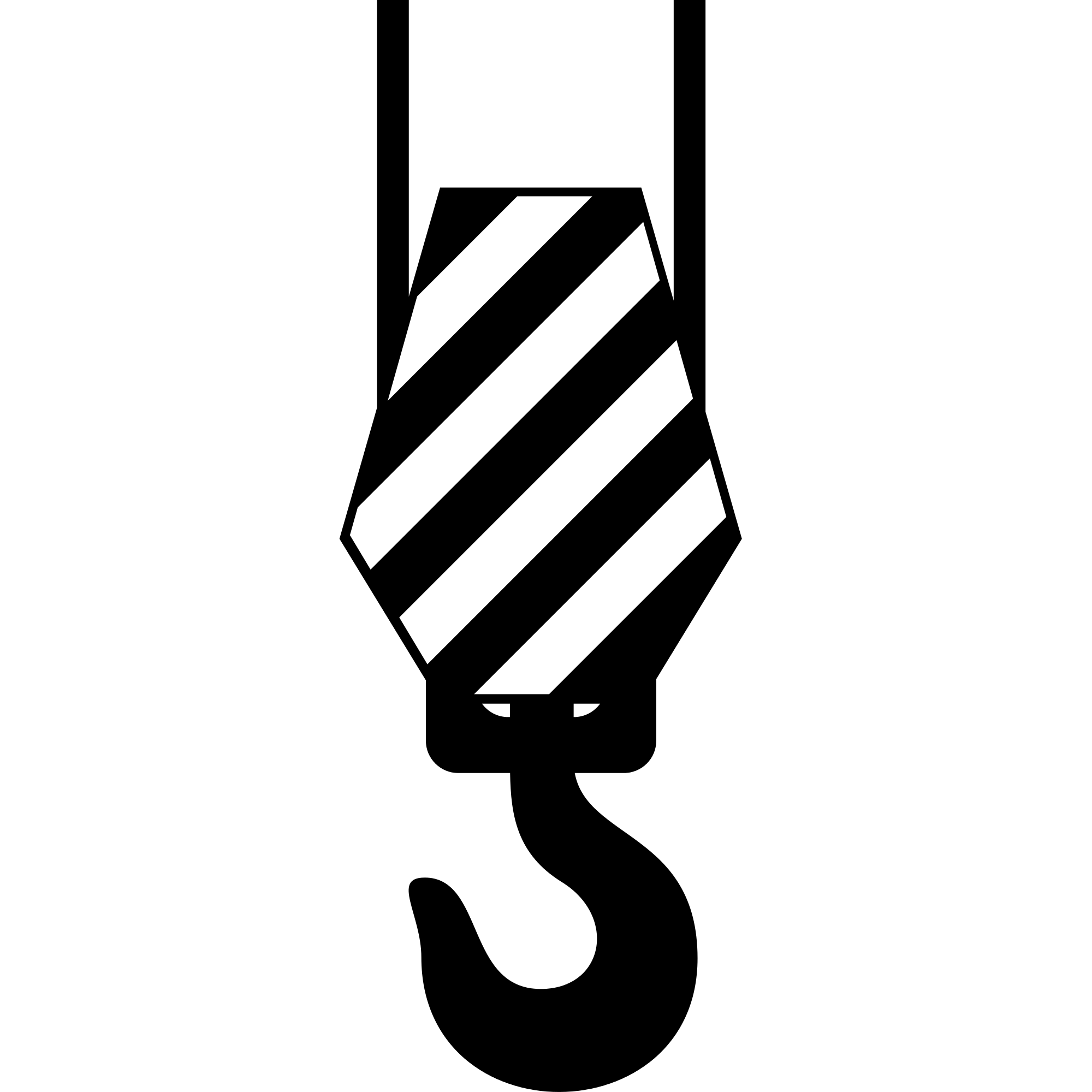 Crane Hook Clipart transparent PNG.