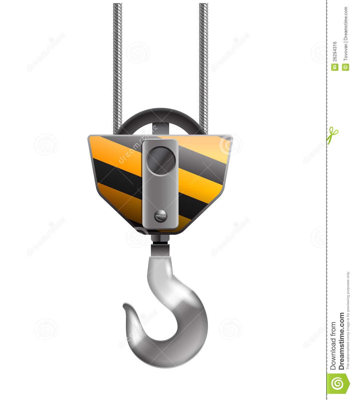Crane Hook Clipart.