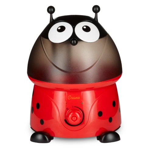 Crane Lily the Lady Bug Ultrasonic Cool Mist Humidifier with.