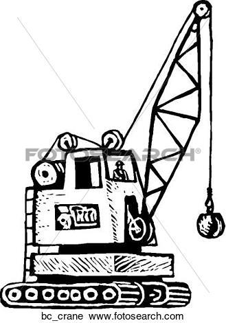 Clipart of Crane Operator bc_crane.