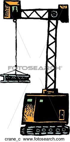 Clipart of Crane Operator crane_c.