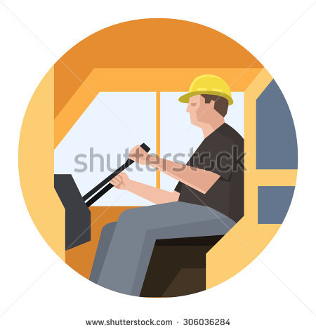 Crane Operator Stock Images, Royalty.