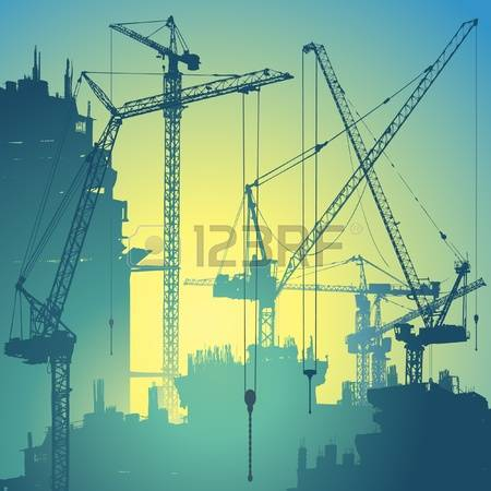 18,239 Construction Crane Stock Vector Illustration And Royalty.