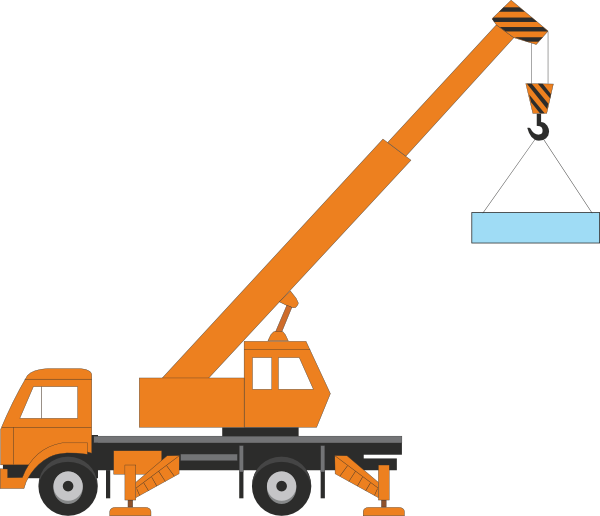 Ideal Crane Clipart Picture.