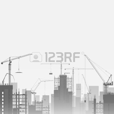 17,269 Construction Crane Stock Vector Illustration And Royalty.
