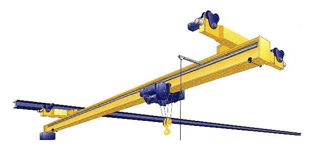 Overhead Crane Clipart.