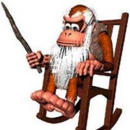 Sir Cranky Kong (@CrankyNESKong).