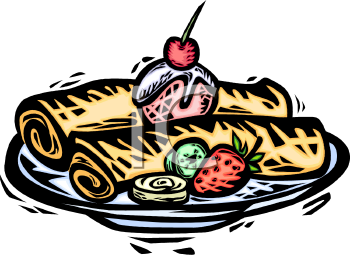 Crepe Clipart.