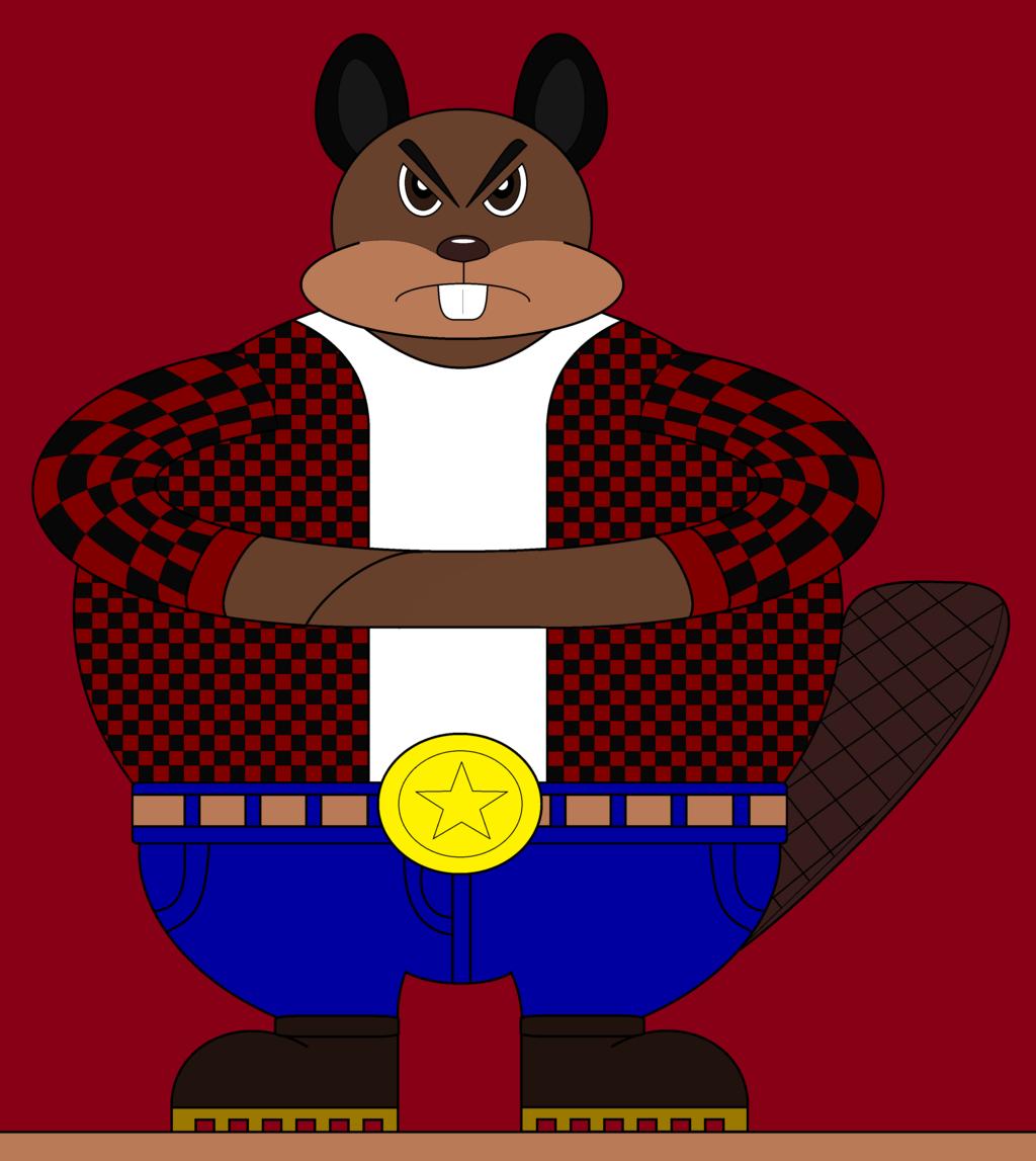 Crapper Jack the Beaver by HyenaRBP on DeviantArt.