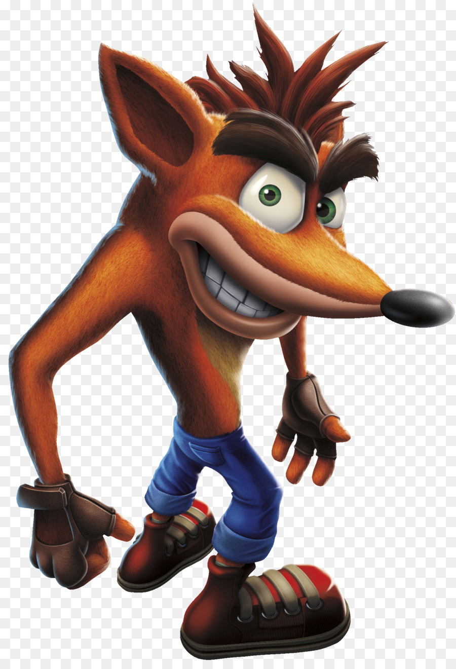 Crash Bandicoot N Sane Trilogy Figurine png download.