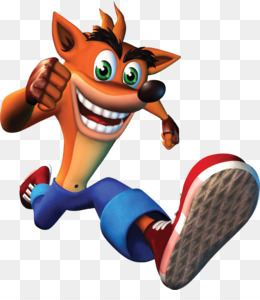 Crash Bandicoot Warped PNG.