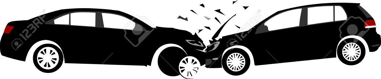 Car Crash Clipart Black And White.