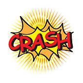 Crash Clip Art.