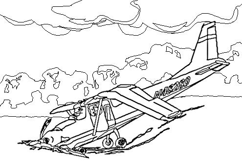 Crash Landing Clipart Clipground
