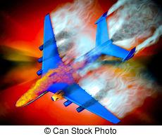 Crash landing Stock Illustration Images. 371 Crash landing.
