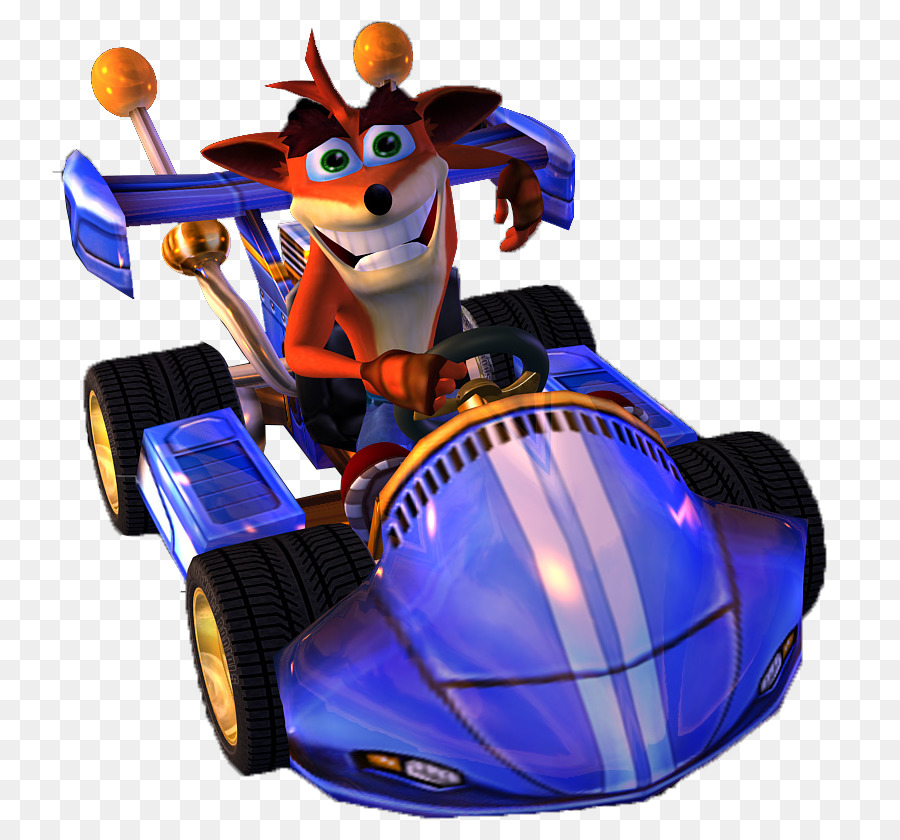 cobalt blue clipart Crash Nitro Kart Crash Tag Team Racing.
