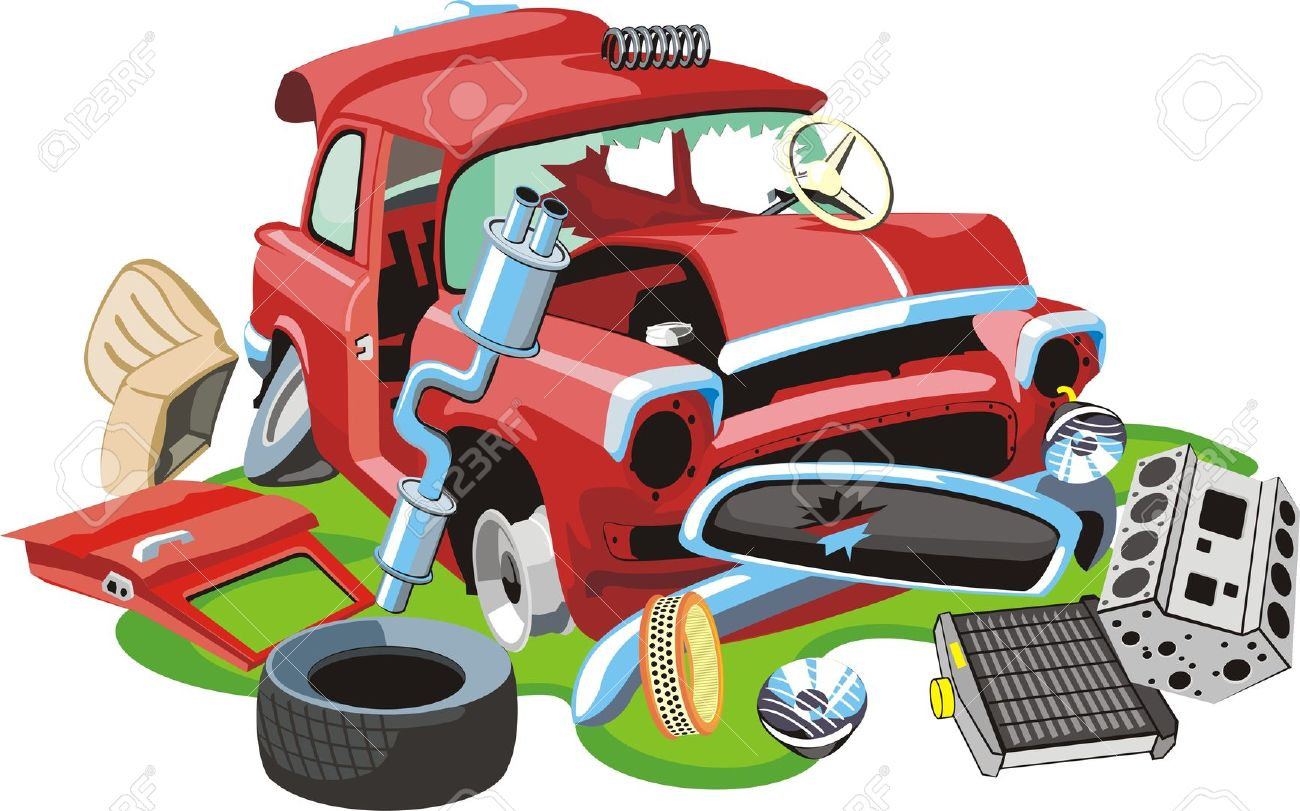 Sell My Junk Car For Top Dollar >> Scrap car clipart - Clipground