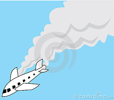 Plane Crash Clipart.