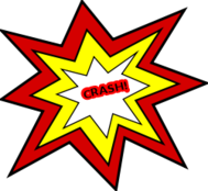 Crashing Clipart.