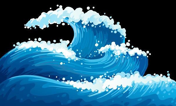 Ocean waves clip art.