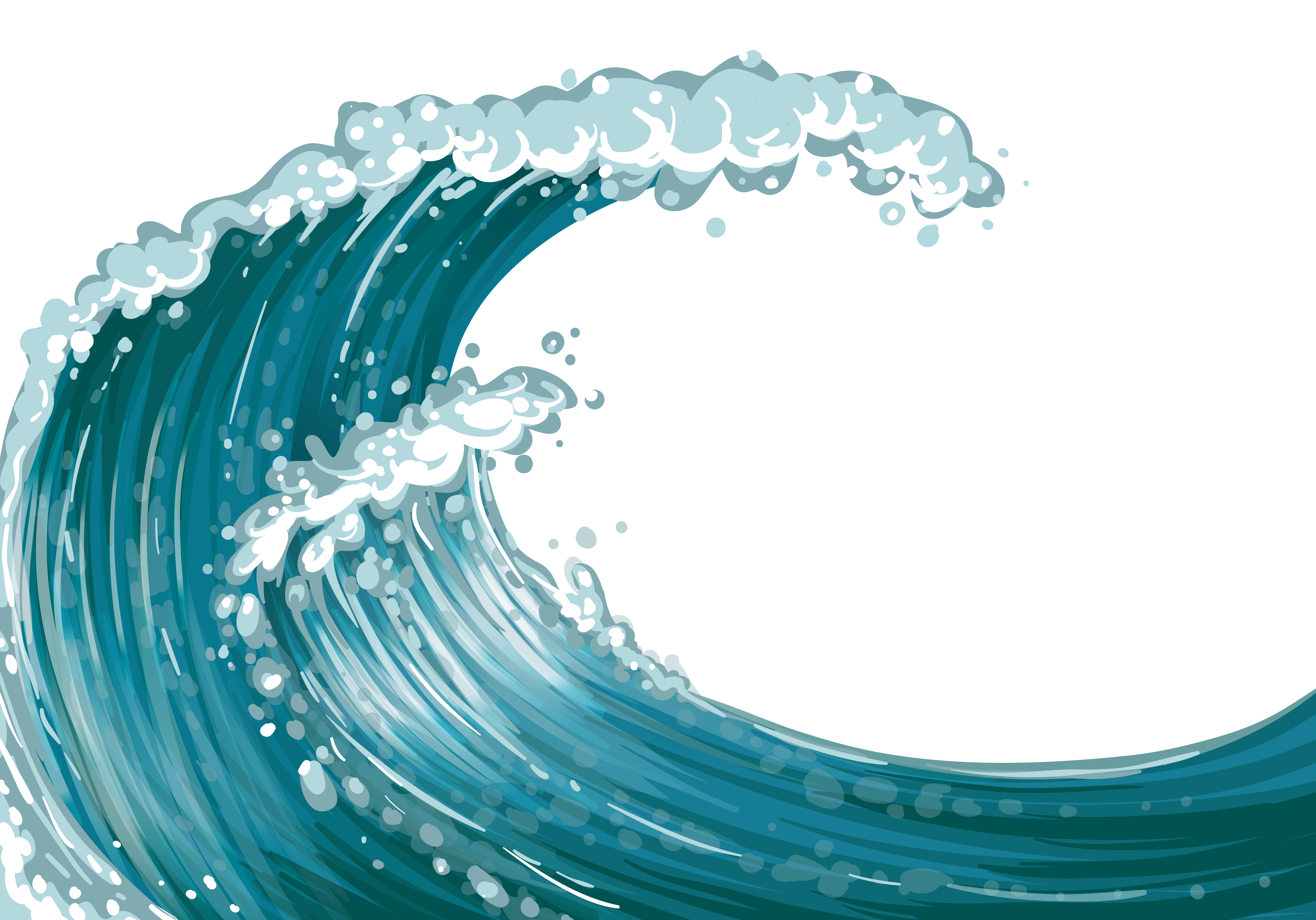 Free Waves Clip Art Pictures.