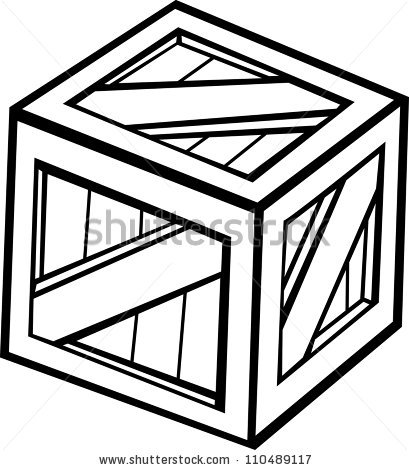Crate 20clipart.