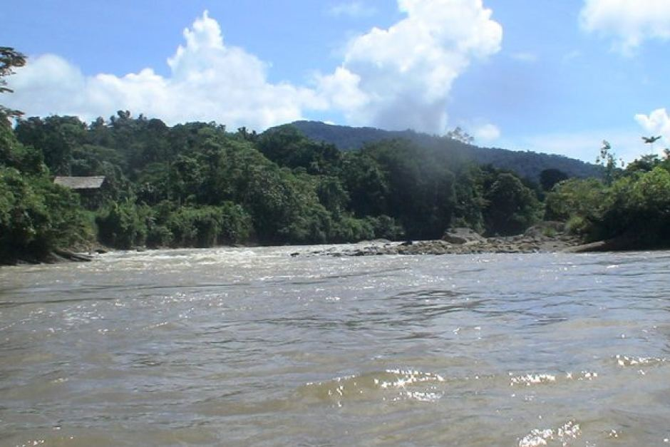 Pio River in Crater Mountain, PNG.