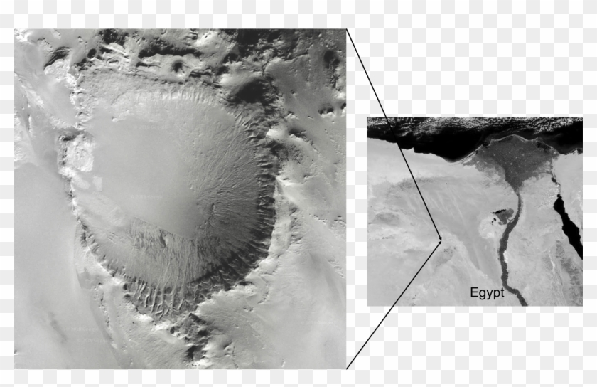 A Prospective Impact Crater.
