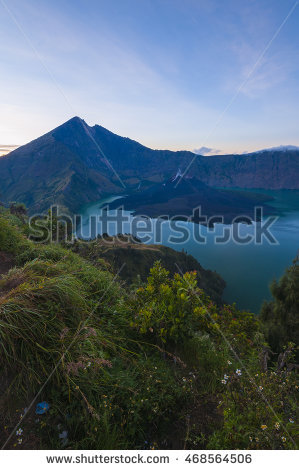 Mount Rinjani Stock Photos, Royalty.
