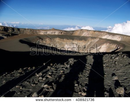 Crater Stock Photos, Royalty.