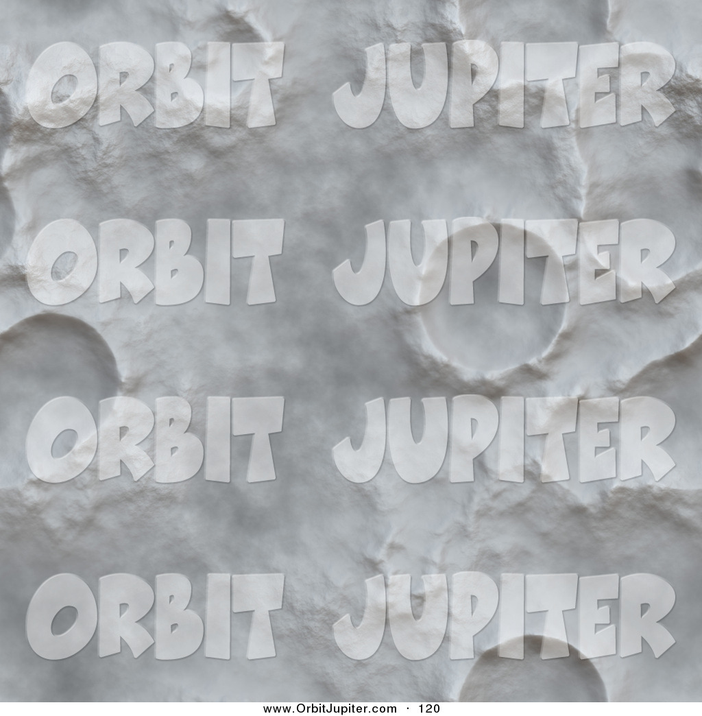 Royalty Free Stock Astronomy Designs of Craters.