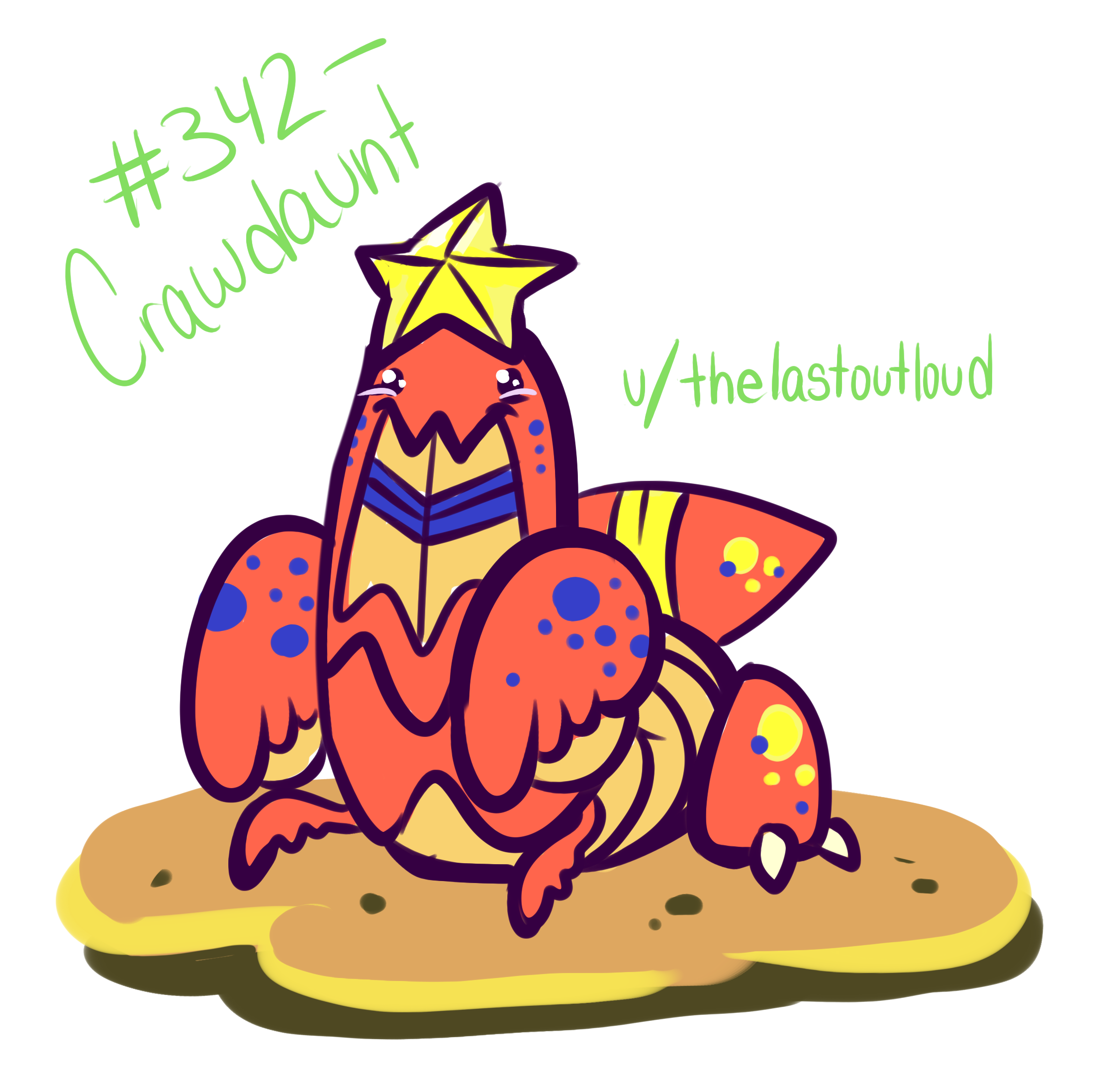 Pokemon of the Week] Crawdaunt! : pokemon.
