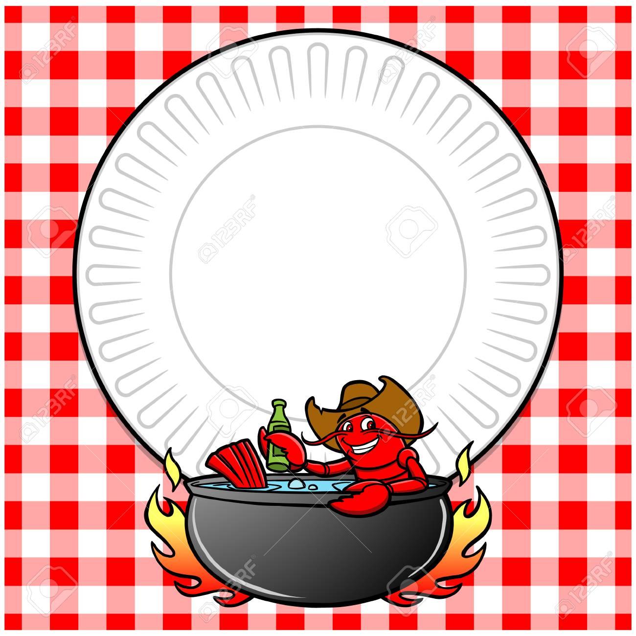 Crawfish Boil Invite.