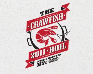 Crawfish Boil Logo / Branding Design. www.cprescott.com.