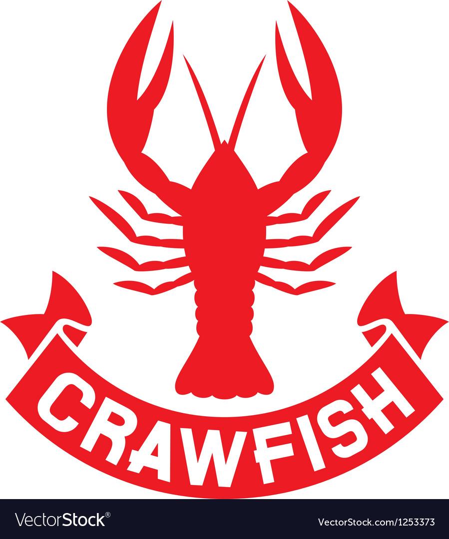Crawfish label.