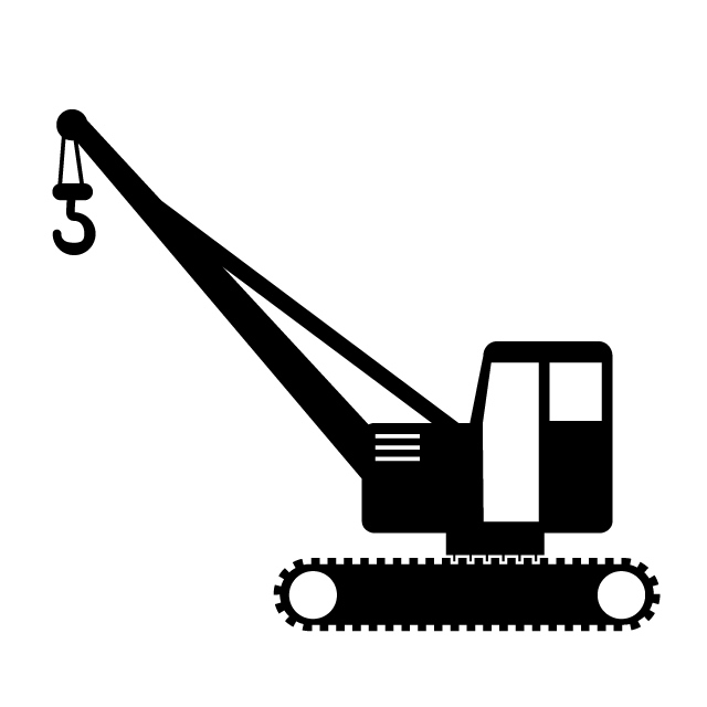 Collection of Crane clipart.