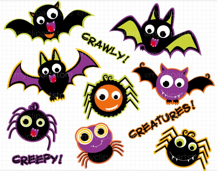 Creepy crawlies clipart.