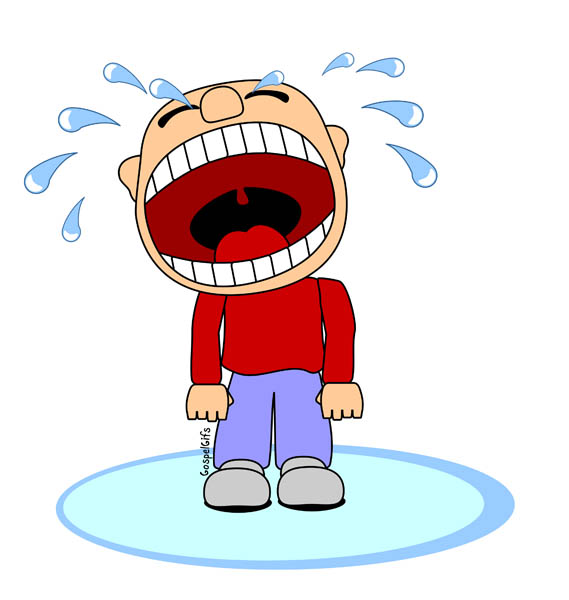 Funny Crying Clipart.
