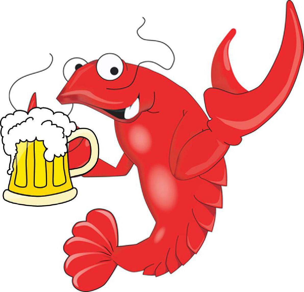 Crawfish Logo Clipart.
