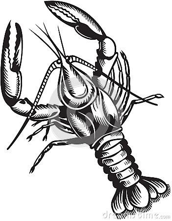 Crayfish Clip Art Page 1.